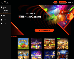 website next casino