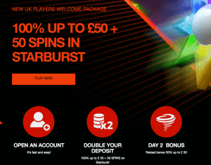 next casino welcome bonus UK
